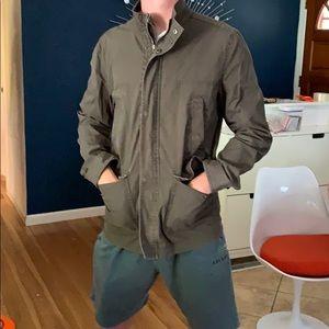 Converse military green jacket sz M